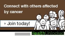 Dimbleby Cancer Care community on HealthUnlocked