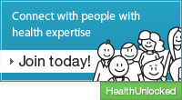 Healthy Evidence on HealthUnlocked