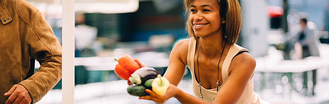 Nutrition and a dietitian