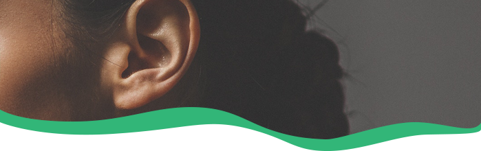 What is meant by 'hearing loss'?